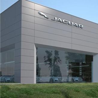 Zakończyliśmy budowę salonu in serwisu samochodowego marki Jaguar Land Rover w Łodzi